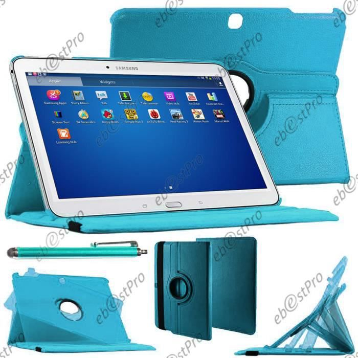 ebeststar etui samsung galaxy tab 4 10 1 bleu prix. Black Bedroom Furniture Sets. Home Design Ideas