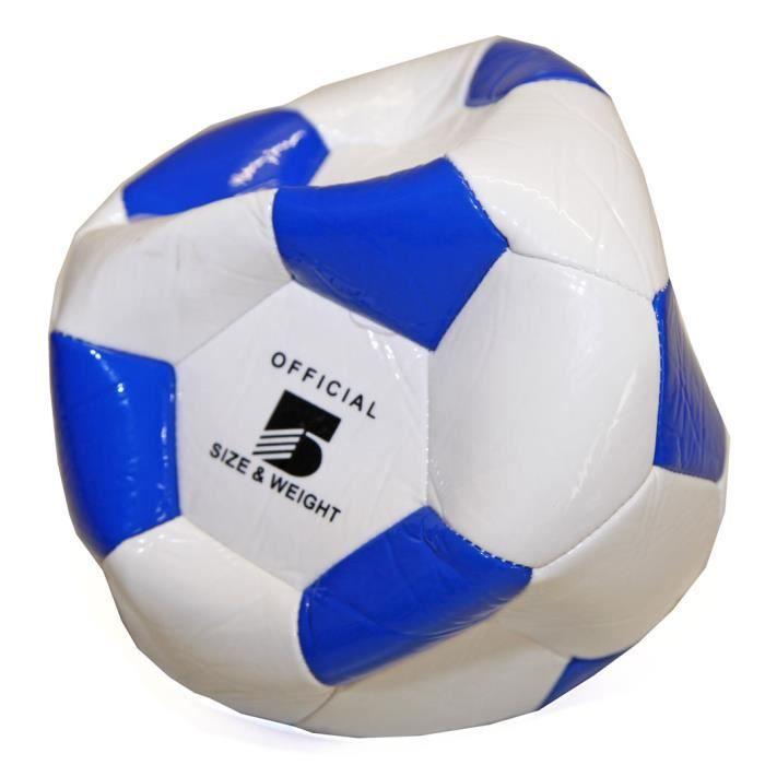 BALLE - BOULE - BALLON Ballon de Foot Football Simili Cuir Vintage Off...