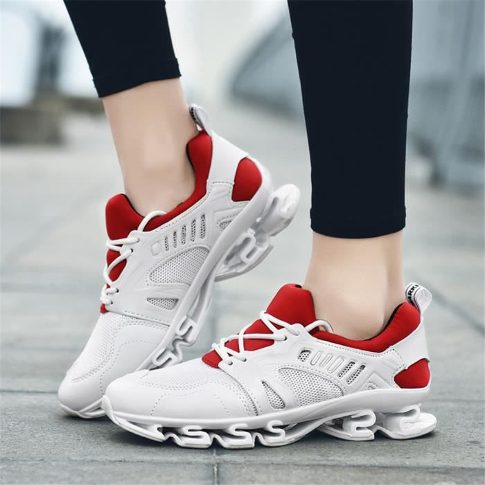 Respirant Noir Extravagant Sneakers Durable Femme Baskets Chaussures Loisirs1 blanc Taille Personnalit Grande Confortable Super wxZxREn