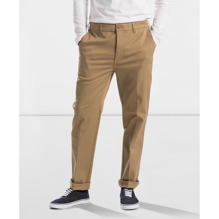 PANTALON 502 - Pantalon chino - beige