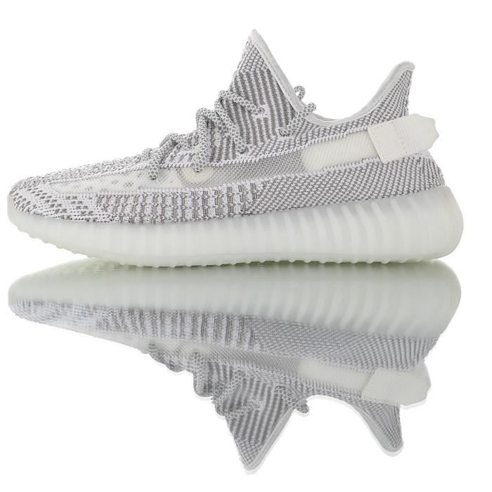 """Baskets Adidas Yeezy Boost 350 V2""""White\Static""""Chaussures de ..."""
