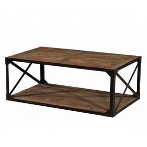 Table basse rectangulaire artisan achat vente table - Table basse industrielle la redoute ...