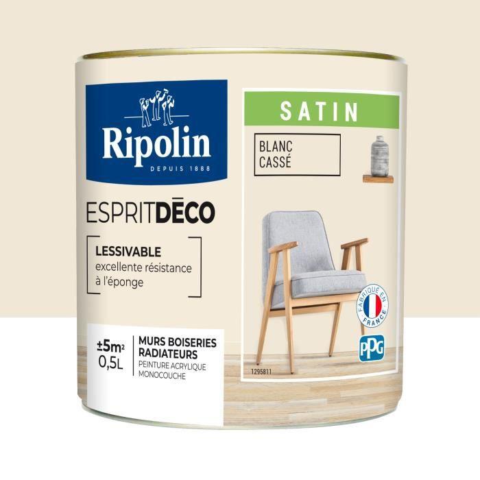 Ripolin Esprit Deco Multi Supports 0 5l Achat Vente Peinture Vernis Ripolin Esprit Deco Multi S Cdiscount