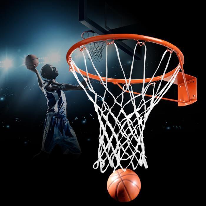 Champion Sports Filet de Basket en Acier galvanis/é