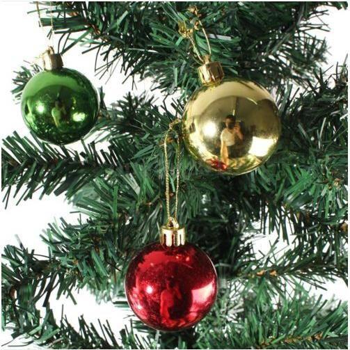 Arbre de Noël Babiole Set incassable ornement décoration de Noël Boule FETE NEUF