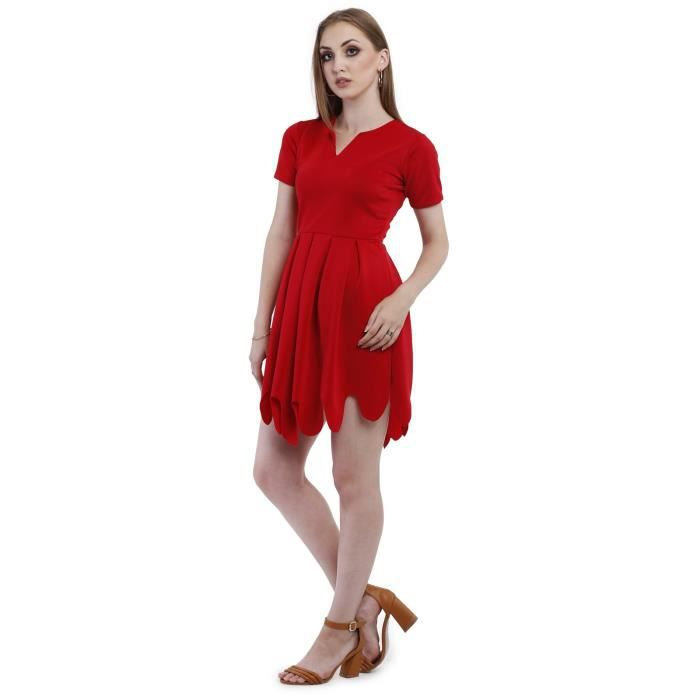 Femmes Lust Red Party Dress couches DJSCR Taille-38