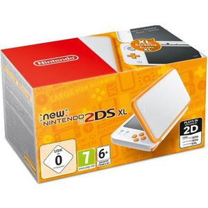 SORTIE CONSOLE NEW 2DS XL New Nintendo 2DS XL Blanche et Orange