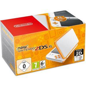 CONSOLE NEW 2DS XL New Nintendo 2DS XL Blanche et Orange