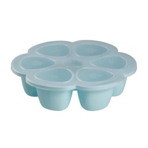 BEABA Multiportions silicone 6 x 150 ml blue