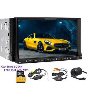 AUTORADIO Navi GPS Autoradio Lecteur DVD de voiture électron