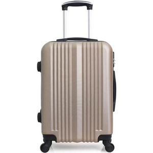 VALISE - BAGAGE Valise Weekend ABS – Coque rigide – 65cm LIPARI –