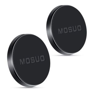 FIXATION - SUPPORT MOSUO 2 Pack Support Telephone Voiture Magnétique