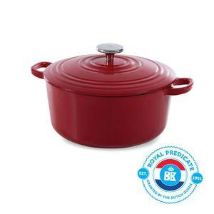 Casserole avec couvercle-confort 3 L émaillé casserole pot pots rôti