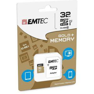 CARTE MÉMOIRE Carte Mémoire microSDHC 32 Go Class 10  avec adapt