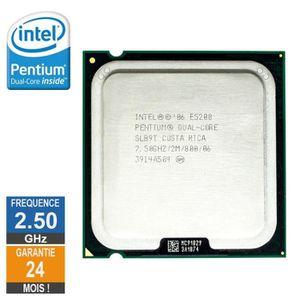 PROCESSEUR Processeur Intel Pentium D E5200 2.50GHz SLB9T LGA