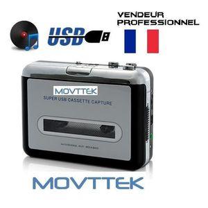 BALADEUR CD - CASSETTE Lecteur cassette K7 - convertisseur lecteur MP3  M
