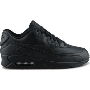 BASKET MULTISPORT NIKE Basket Homme Air Max 90 302519-001 - Cuir - N