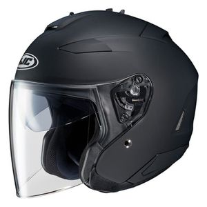 CASQUE MOTO SCOOTER Casque HJC IS-33 II Noir Mat