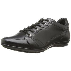 BASKET GEOX U Symbole D - Cuir lisse, Sneakers-top LQ376