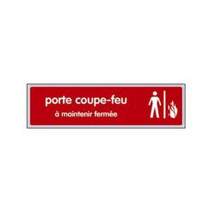 FOND DE STUDIO Plaque signalisation 170 x 40mm plexi. couleur 425