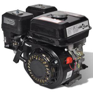 MOTEUR COMPLET Moteur à essence 6,5 CH 4,8 kW Noir