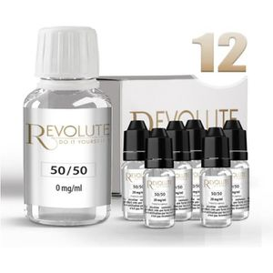 LIQUIDE KIT shooters nicotine TPD-READY DIY 12 mg/ml - 100