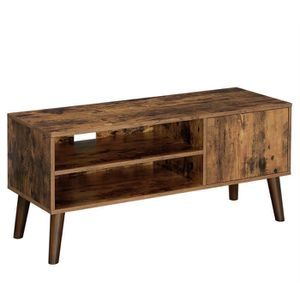 MEUBLE TV VASAGLE Meuble TV Rustique, Table Basse, Buffet Ba