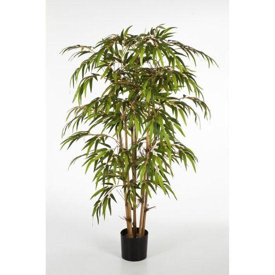 """vidaXL Bambou artificiel /""""Twiggy/"""" avec pot 90 cm Arbre Artificiel décoration"""