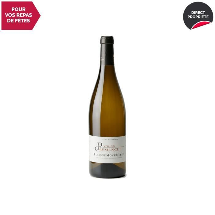 Puligny-Montrachet Blanc 2018 - 75cl - Patrick Clémencet - Vin AOC Blanc de Bourgogne - Cépage Chardonnay