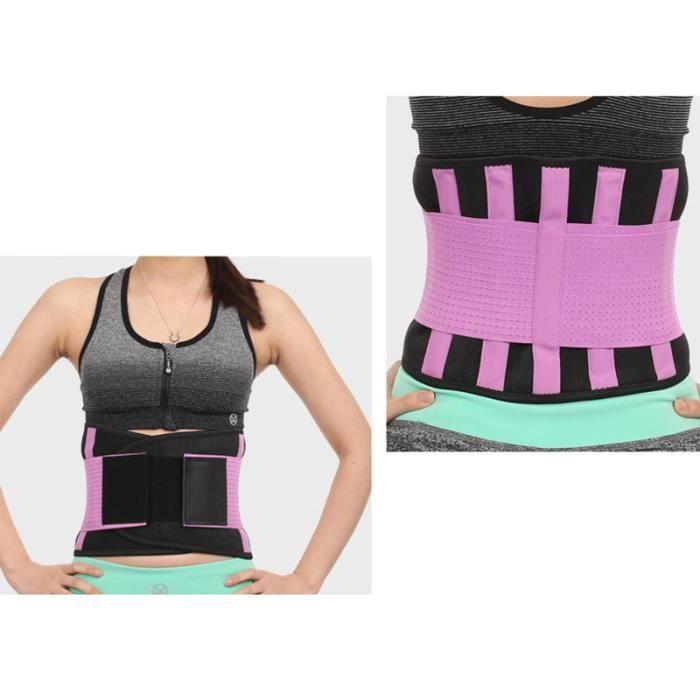 DoringIN-Ceinture de Force,Ceinture corset,110*23cm Violet-Ceinture lombaire, soutien dorsal inférieur Ceinture-Pour Fitness Sports