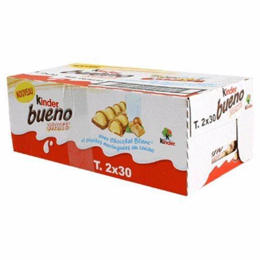 Kinder Bueno White Chocolat Blanc (lot de 2)