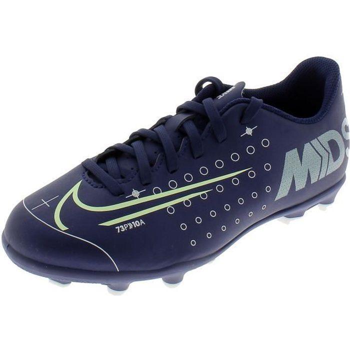 NIKE JR VAPOR 13 CLUB CHAUSSURES DE FOOTBALL GARCON BLEU CJ1148401