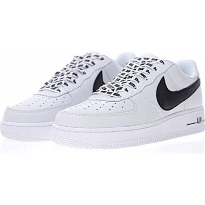 Baskets AIR Original Force 1 blanc-noir 823511-405 Chaussures de Running Homme-Femme