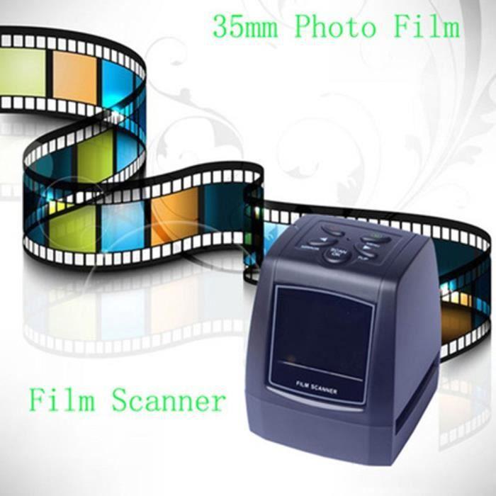 scanner de film de 35 mm Numérisation de photos de diapositives négatives de scanner de haute résolution de