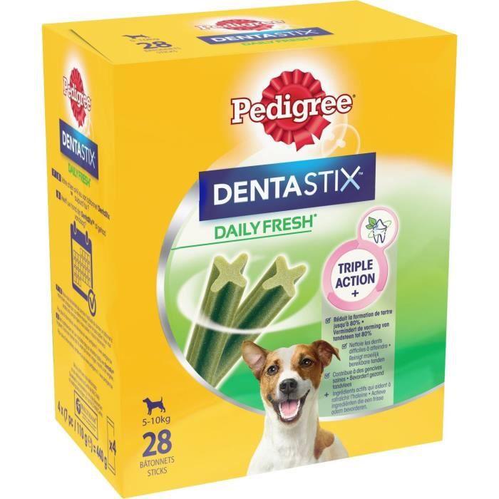 PEDIGREE Dentastix Fresh - Bâtonnets à mâcher - Pour petit chien x28