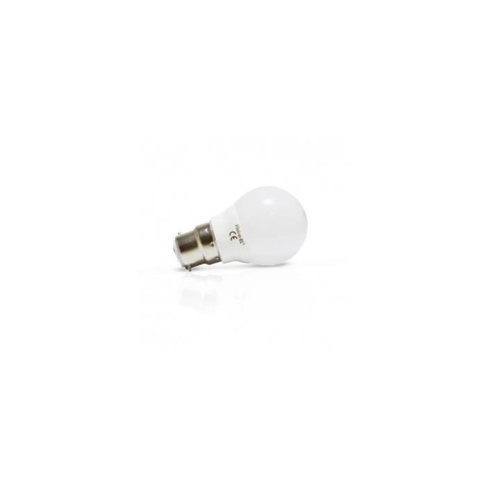 Ampoule LED B22 Bulb G45 6W 4000 K Blister x2