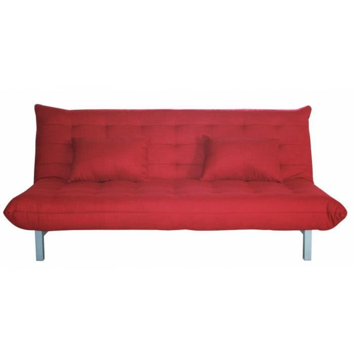 Muse clic clac rouge achat vente clic clac cdiscount - Canape clic clac rouge ...