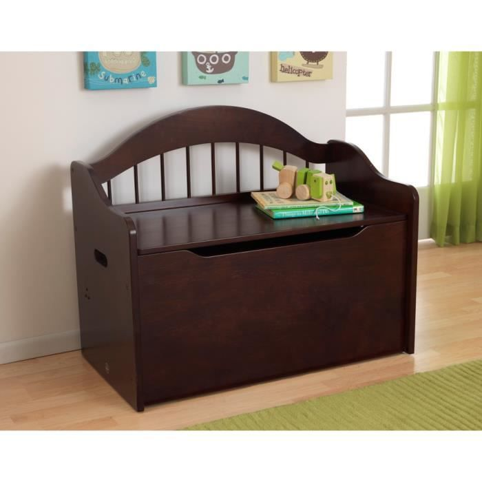malle de rangement caster noir achat vente malle de rangement caster cdiscount. Black Bedroom Furniture Sets. Home Design Ideas