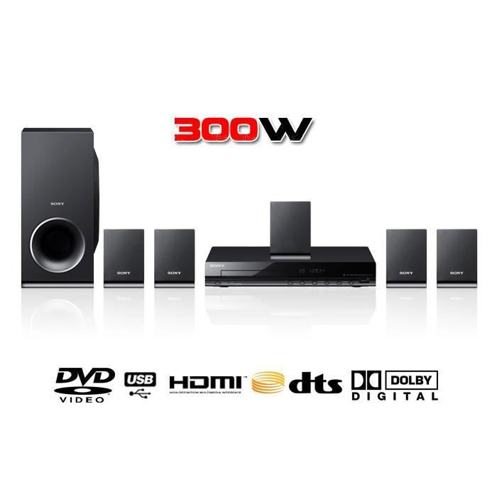 sony dav tz140 home cin ma dvd 5 1 achat vente. Black Bedroom Furniture Sets. Home Design Ideas