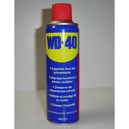 bombe aerosol degrippant anti humidite wd 40 200ml bombe aerosol degrippant anti humidite wd. Black Bedroom Furniture Sets. Home Design Ideas