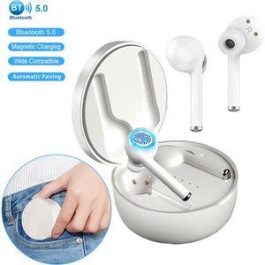 CASQUE - ÉCOUTEURS Ecouteur sans Fil TW40 Écouteurs Bluetooth 5.0 Sté