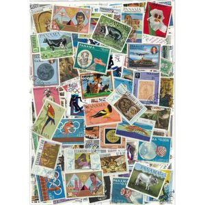 TIMBRE Amerique -  500 timbres collection différents o…