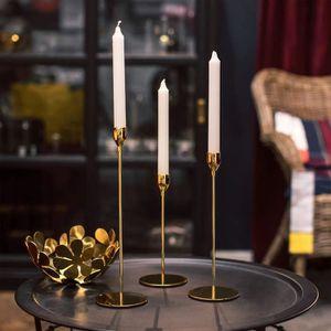 en M/étal,Surface dor/ée Bougeoir Chandelier /à 5 Bras D/îner Romantique Saint Valentin Bougie Chandelier D/écoration de Mariage d/îner