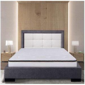 STRUCTURE DE LIT Sommier Alitea Hotel ET TETE DE LIT JEAN 140x190
