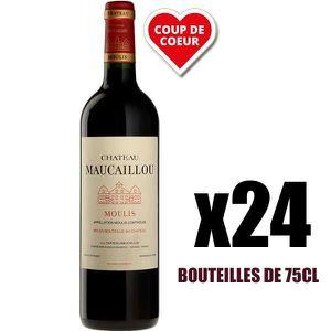 VIN ROUGE X24 Château Maucaillou 2016 75 cl AOC Moulis-en-Mé