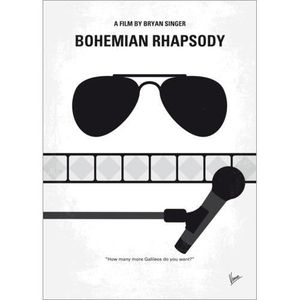 AFFICHE - POSTER No1038 My Bohemian Rhapsody Minimal Movie Poster -