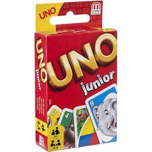 CARTES DE JEU UNO JUNIOR Jeu de cartes - 2 à 4 joueurs - 3 ans e