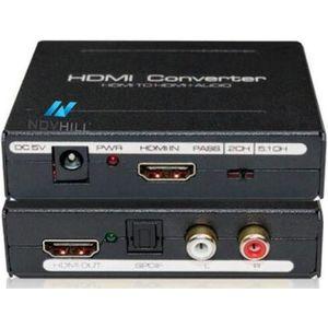 CÂBLE TV - VIDÉO - SON HDMI Extractor Audio Convertisseur HDMI vers HDMI