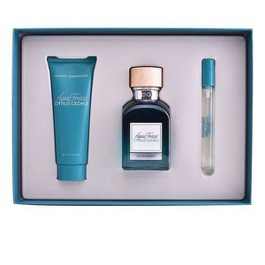 COFFRET CADEAU PARFUM Set de Parfum Homme Agua Fresca Citrus Cedro Adolf