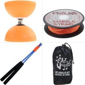 DIABOLO JUGGLE DREAM - Diabolo Gyro Free Orange + Ficelle